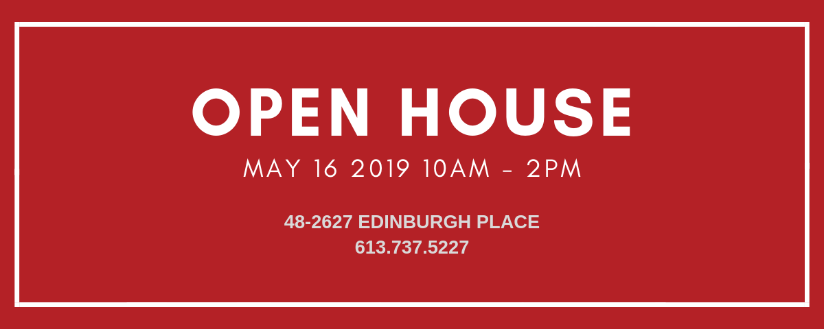 CCC Open House banner